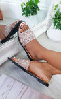 Fifi Embellished Slip On Sandals Thumbnail