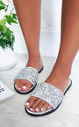 Fifi Embellished Slip On Sandals Thumbnail