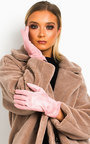 Fifi Faux Suede Gloves  Thumbnail