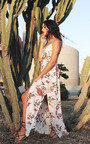 Fifi Floral Maxi Dress Thumbnail