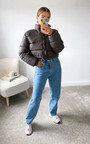 Fizz Cropped Padded Puffer Jacket Thumbnail