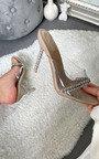 Fleur Chain Detail Heels Thumbnail