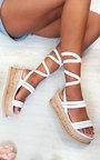 Fliss Strappy Flatform Sandals Thumbnail