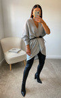 Flo Oversized Knitted Cardigan Thumbnail
