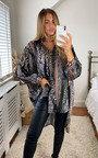Flo Oversized Printed Shirt Thumbnail