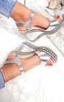Floriana Metallic Braided Wedges Thumbnail