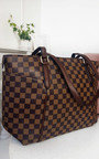 Flossie Check Shoulder Bag Thumbnail