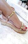 Seritta Studded Strap Wedge Sandal Thumbnail
