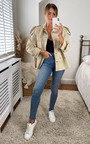 Frankie Belted Oversized Jacket  Thumbnail