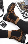 Franny Diamante Studded Ankle Boots Thumbnail