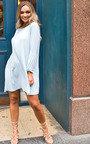 Freja Crinkle Flare Shift Dress Thumbnail