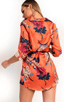 Freja Long-lined Floral Shirt Dress Thumbnail