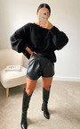 Freja Oversized Knitted Jumper Thumbnail