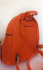 Frida Faux Leather Mini Backpack Bag Thumbnail