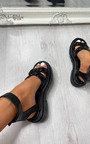 Gabriella Chain Strappy Buckle Sandals Thumbnail