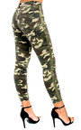 Geo Skinny Camouflage High-Rise Jeans Thumbnail
