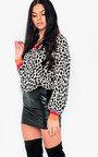 Gerri Faux Leather Skirt  Thumbnail
