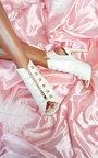 Gia Looped Corset Peep Toe Heels Thumbnail