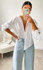 Gigi Statement Sleeve Shirt Thumbnail