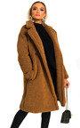 Gigi Teddy Bear Maxi Coat Thumbnail