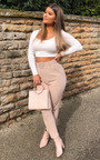 Gill High Waist Belted Slim Leg Trousers Thumbnail