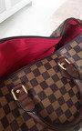 Glenn Check Pattern Tote Handbag Thumbnail