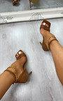 Gosia Chain Detail Heels Thumbnail