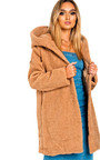 Hanni Hooded Teddy Bear Jacket Thumbnail