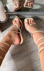 Harlow Strappy Knee High Heels Thumbnail