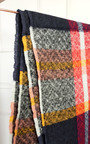 Harper Check Print Knitted Scarf Thumbnail