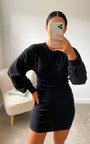 Harper Knitted Bodycon Dress Thumbnail