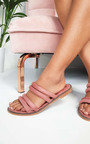 Harper Strappy Faux Suede Sandals Thumbnail