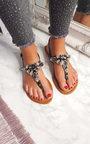 Haven Jewel Embellished T-Bar Sandals Thumbnail