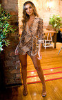 Haylie Printed Wrap Style Playsuit Thumbnail