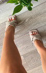 Hollie Strappy Mule Heels Thumbnail