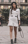 Holly Knitted Flare Dress Thumbnail