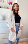 Hope Longline Knitted Cardigan Thumbnail