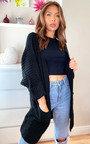 Hope Longline Knitted Cardigan Thumbnail