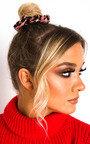 Iggy Leopard Print Hair Scrunchie Thumbnail