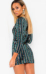 Iggy Sequin Embellished Mini Dress Thumbnail