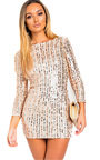 Iggy Sequin Embellished Mini Dress Thumbnail