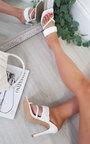 Ilary Double Strap Woven Detail Heels Thumbnail