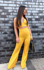 India Cropped Ribbed Flared Co-ord Thumbnail