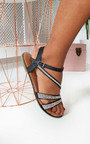 Iris Diamante Embellished Strappy Sandals Thumbnail