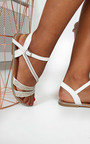 Iris Diamante Embellished Strappy Sandals Thumbnail