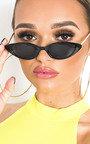 Iris Gold Detail Cat Eye Sunglasses Thumbnail