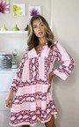 Isabella Printed Layered Shift Dress Thumbnail