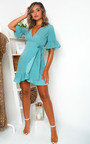 Isla Love Heart Wrap Dress Thumbnail