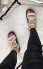 Issa Strappy Chunky Sandals Thumbnail