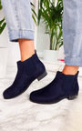 Ivy Faux Suede Ankle Boots Thumbnail